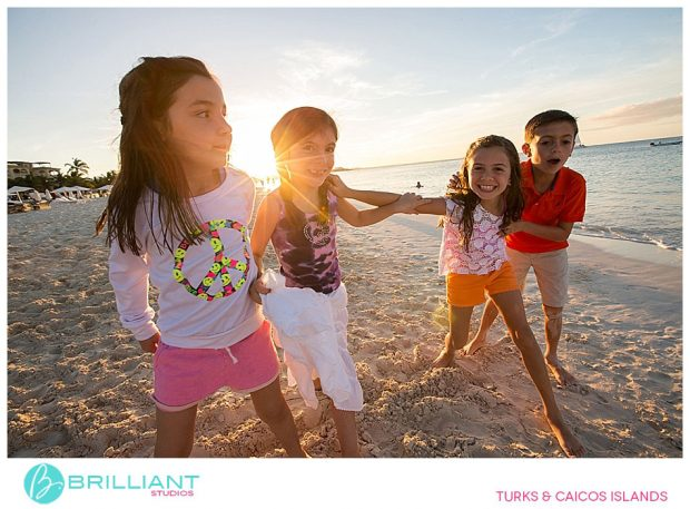 family photography at Grace Bay Club