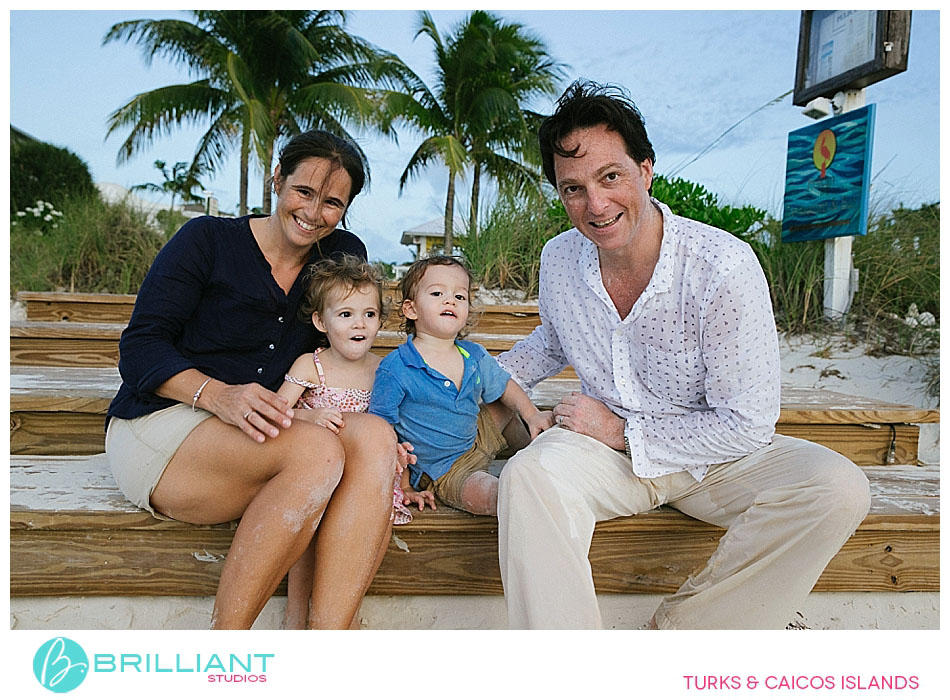 family pictures in turks and caicos