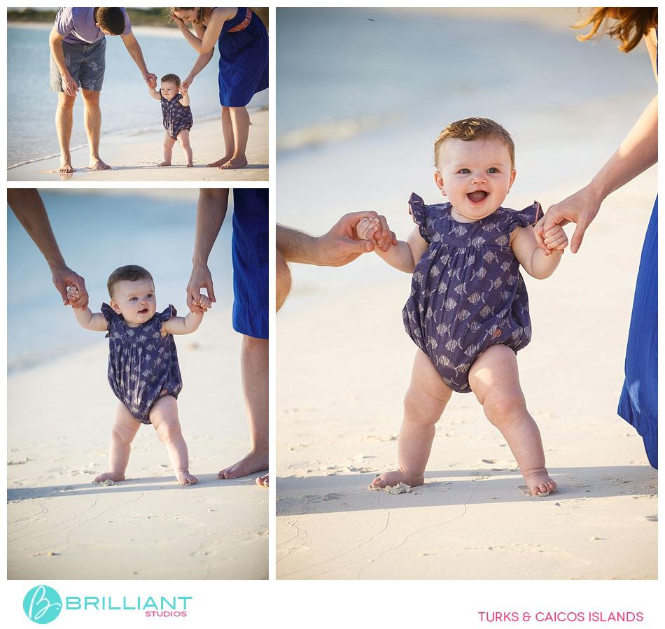 a cool beach baby