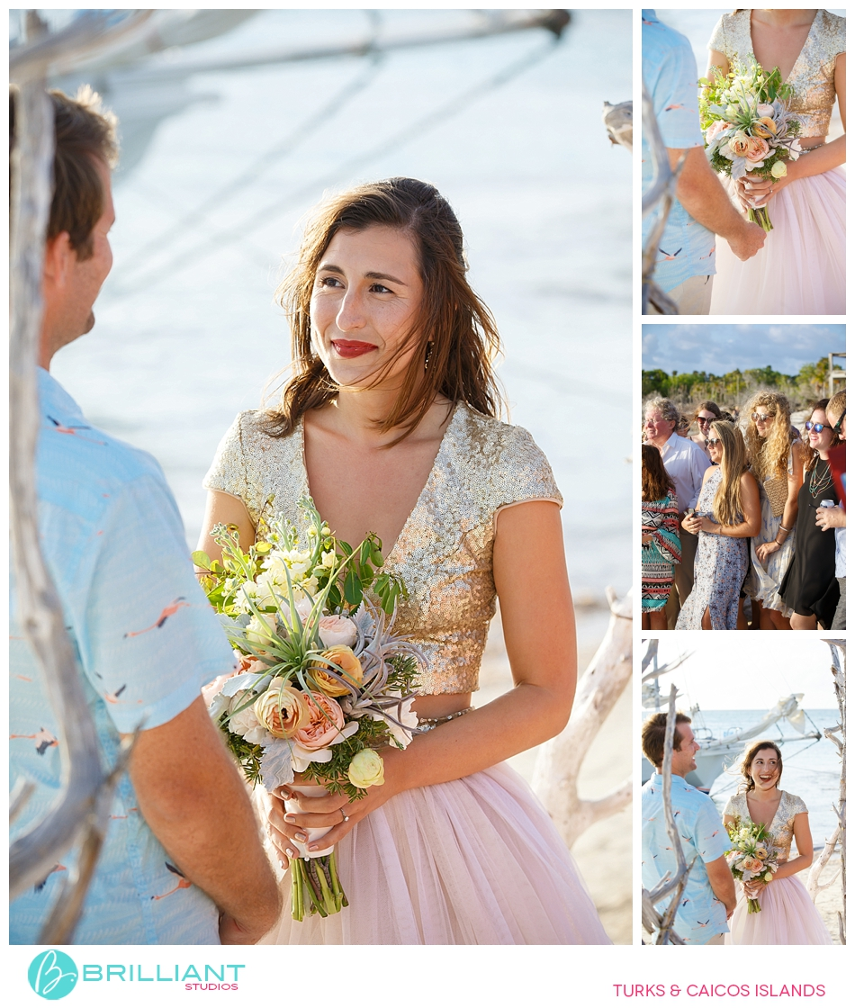 Turks and Caicos beach wedding
