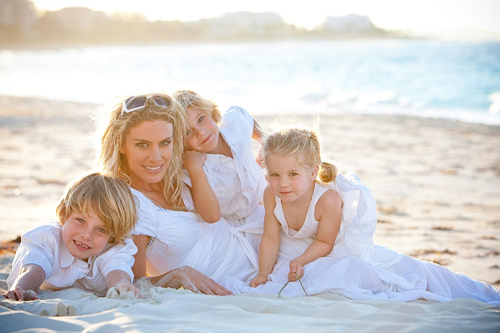 Family Portrait - Providenciales Photographer