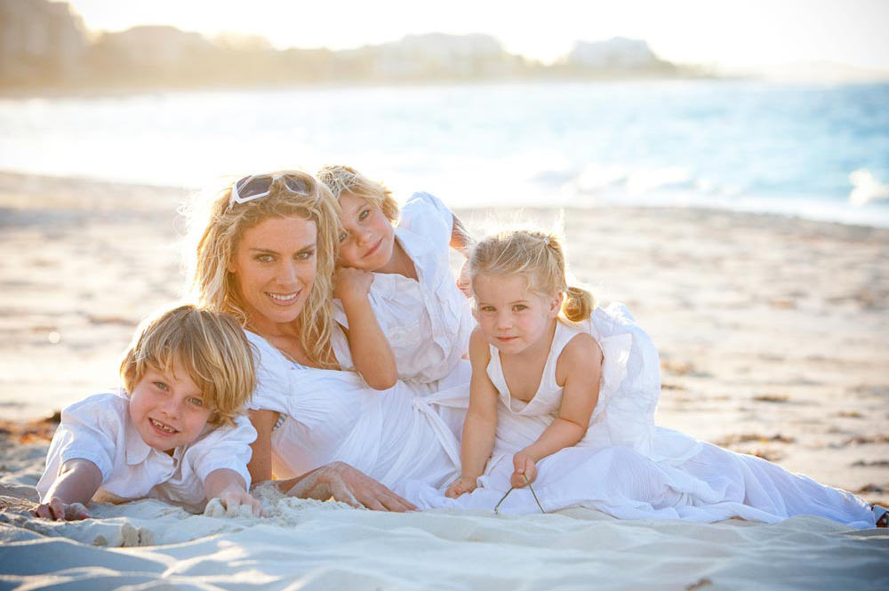 Family portrait photographers in Turks and Caicos, Photoshoot