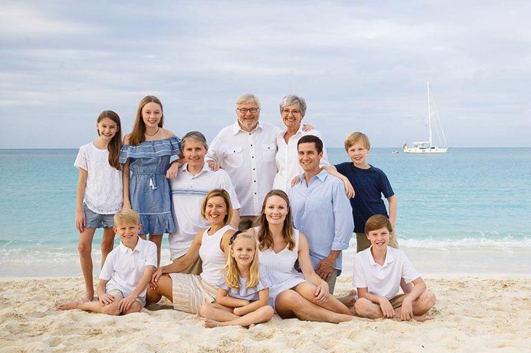 Turks and Caicos family portrait photographer